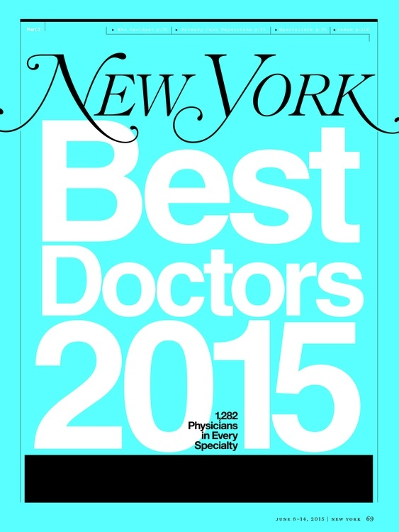 New York Magazine Top Doctors 2015